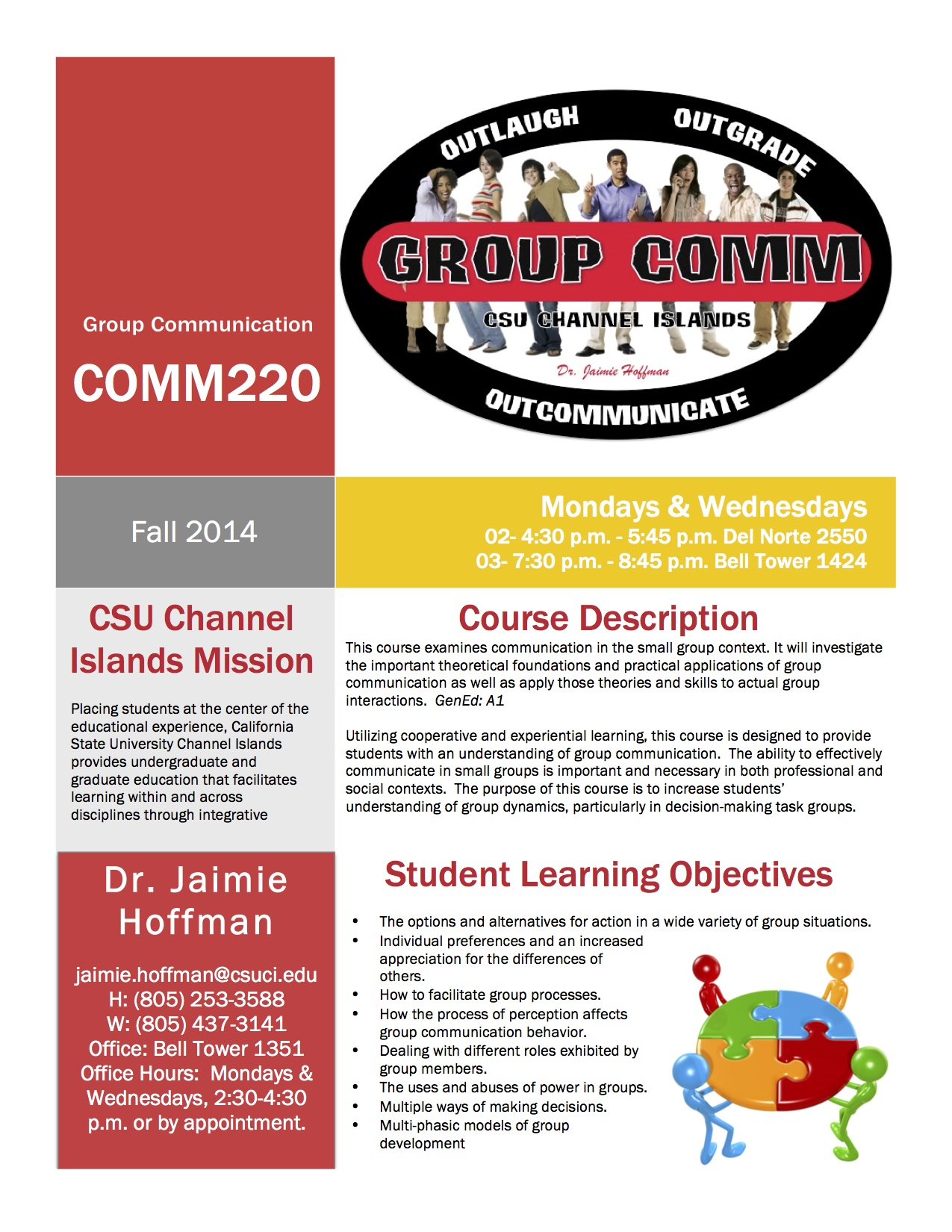 1 Design_Course_Syllabus_Hoffman_COMM_220_Fall_2014