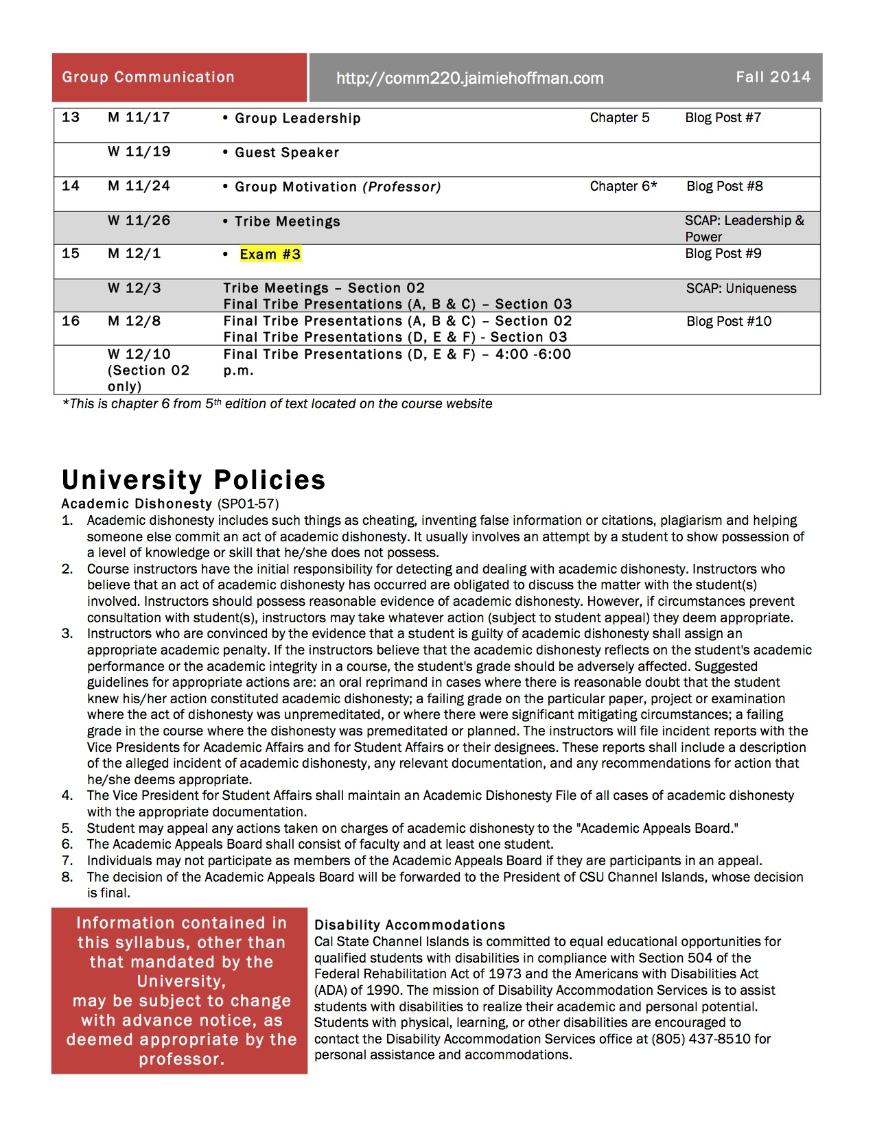 Page 7 Design_Course_Syllabus_Hoffman_COMM_220_Fall_2014
